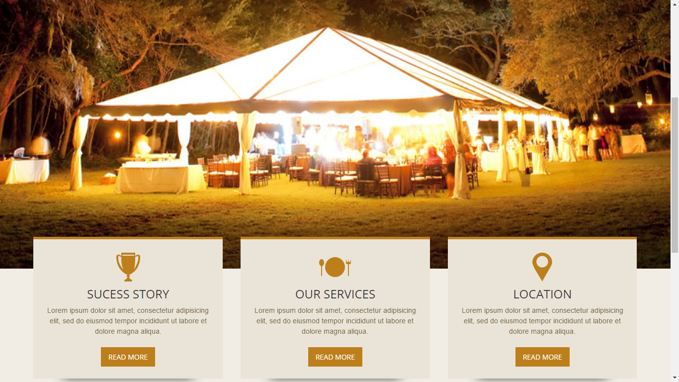 A local catering company needed a fresh, new, responsive website.